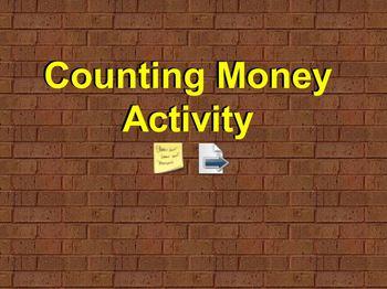 Counting Money Flipchart Activity