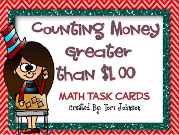 Dr. Seuss Week Inspired Counting Money