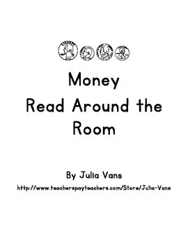 Counting Money Read Around the Room Activity