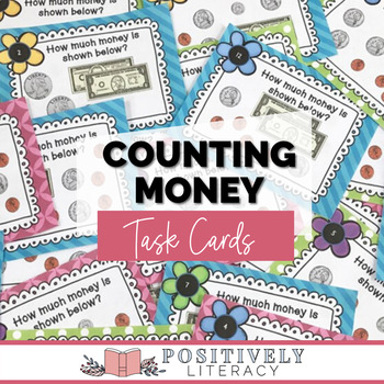 Counting Money Task Cards #Friday13th