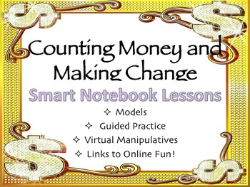 Counting Money and Making Change Smart Notebook