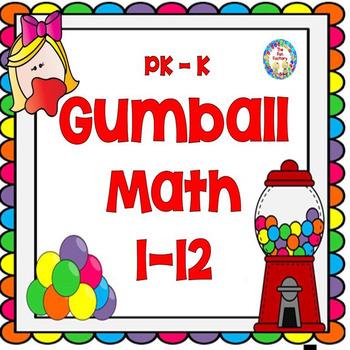 Counting, More, Less, the Same -  PK/K Math Skills