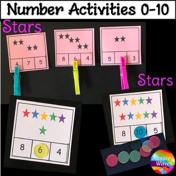 Counting Numbers 0-10 Number Recognition Counting Objects