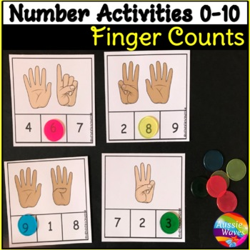 Counting Numbers 0-10 Number Recognition Finger Counts Fun