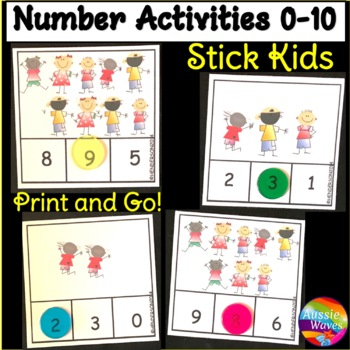 Counting Numbers 0-10 Number Recognition COUNT Kids Kinder