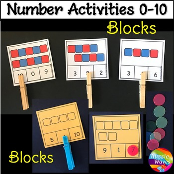 Counting Numbers 0-10 Number Recognition Count Blocks Fun