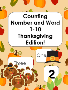 Counting Numbers and Words 1-10