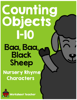 Counting Objects 1-10 Baa Baa Black Sheep Nursery Rhyme Ch