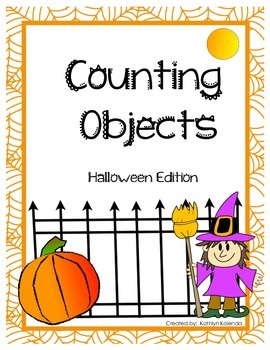 Counting Objects 1-20 - Halloween Edition!