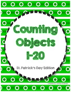Counting Objects 1-20 - St. Patrick's Day Edition!