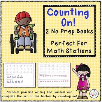Counting On! - Two No Prep Books