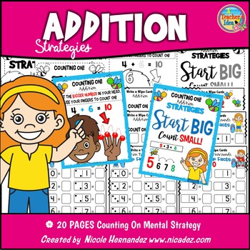 Mental Math ADDITION Strategies - Counting On