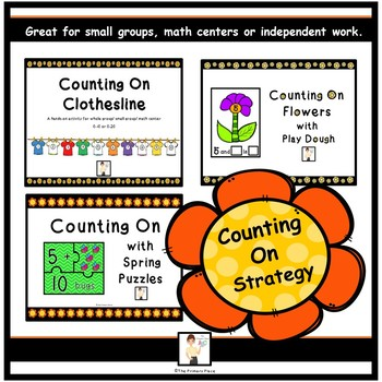 Counting On Addition Strategy Activities BUNDLE