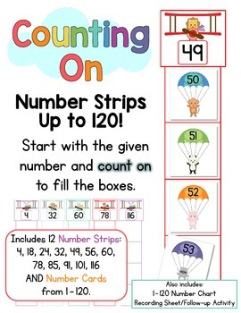 Counting On!  Counting On Numbers 1 - 120