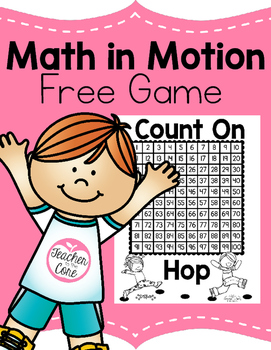 Counting On Freebie- Math in Motion Game