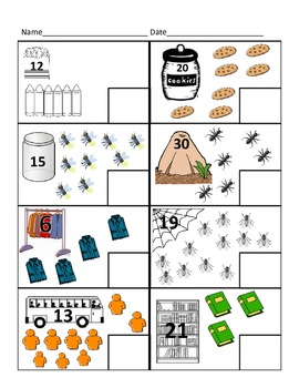 Counting On Practice Numbers to 40 (Kindergarten/1st Grade)