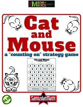 Subtraction Strategy Game: Cat and Mouse