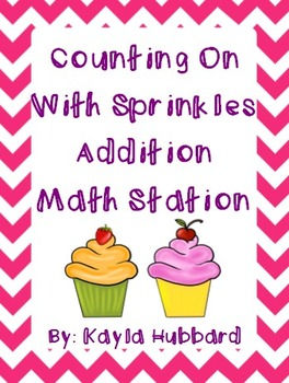 Counting On With Sprinkles Addition Math Station