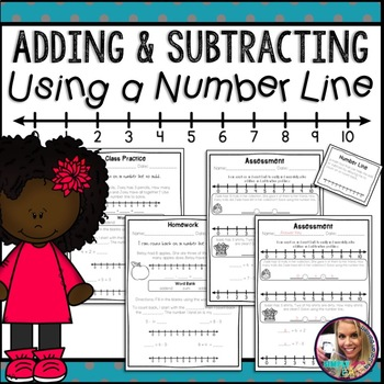 Number Line: Counting On and Counting Back - Grade 2