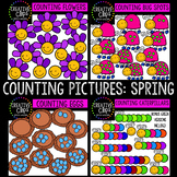 Counting Pictures: Spring Clipart {Creative Clips Clipart}
