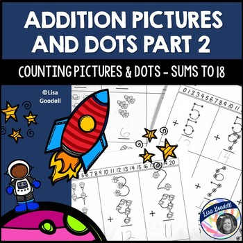 Counting Pictures and Dots: Addition for Special Ed PART 2