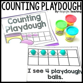 Counting Playdough Book