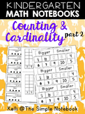 Math Journals: Counting and Cardinality-Part 2