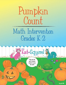 Counting Pumpkins for Math Intervention K-2