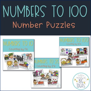 Counting Puzzles Bundle