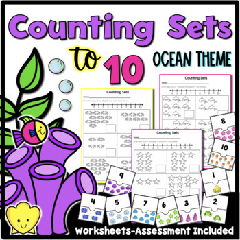 Counting Sets to 10 {Ocean Theme}