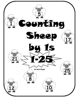 Counting Sheep 1-25