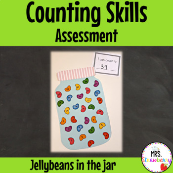 Counting Assessment - Jellybeans in a Jar