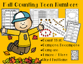 Counting Teen Numbers - Compose/Decompose, Compare and 1 m