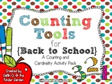 Counting Tools for Back to School {A Counting & Cardinalit
