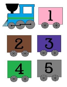 Counting Train for Number Recognition