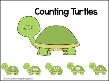 Counting Turtles to Ten