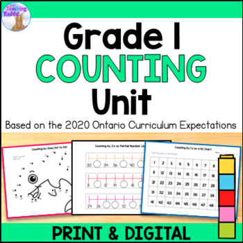 Counting Unit for Grade 1 (Ontario Curriculum)