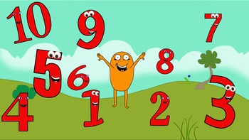 Counting with The Numberniks Activity Pack (w/ video connections)