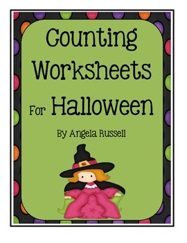 Halloween ~ Counting Worksheets