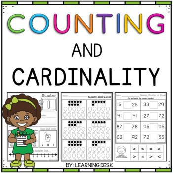 Counting Worksheets - Freebie