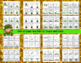 Counting and Cardinality: St. Patrick's Day Counting Puzzles 0-10