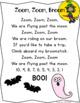 Counting backward from 10.  Halloween Craftivity. Zoom, Zo