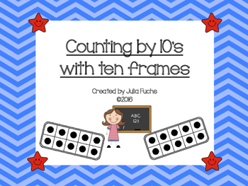 Counting by 10s with Ten Frames