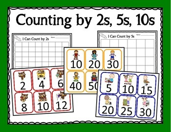 Counting by 2s, 5s, 10s