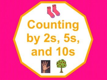 Counting by 2s, 5s, and 10s SmartBoard Lesson