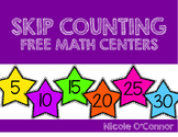 Skip Counting FREE Math Centers
