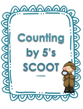 Counting by 5's in the 100's Scoot