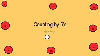 Counting by 6's