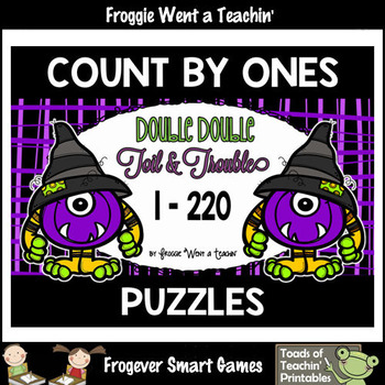 Counting by Ones--Number Sequencing Puzzles (1-220) Double