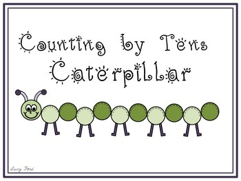 Counting by Tens Caterpillar